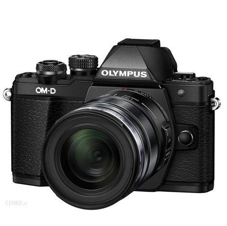 Aparat OLYMPUS E-M10 Mark II Czarny + Obiektyw 12-50 mm