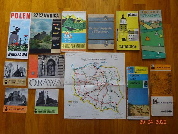 Mapy Informatory Plany Miast lata 1 9 7 2 - 1 9 5 3