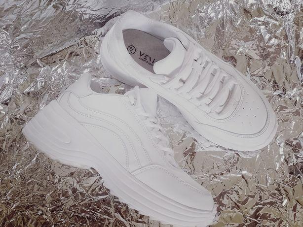 Buty sportowe sneakers białe nowe 37 Venice z przesyłką