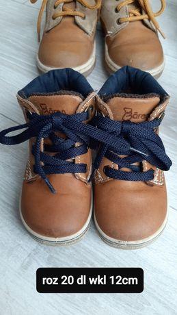 Buty zimowe 20 dł wkładki 12cm