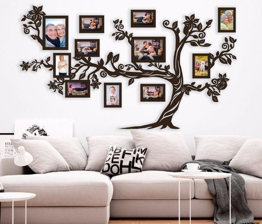 Фоторамка семейное дерево, Композиция с Фоторамок Наша сімя