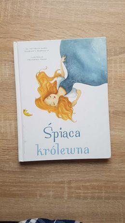 Śpiąca królewna książka dla dzieci