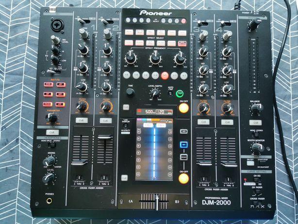 Pioneer djm 2000 v3.21 Nexus stan bdb. 600, 700, 800, 850, 900 cdj