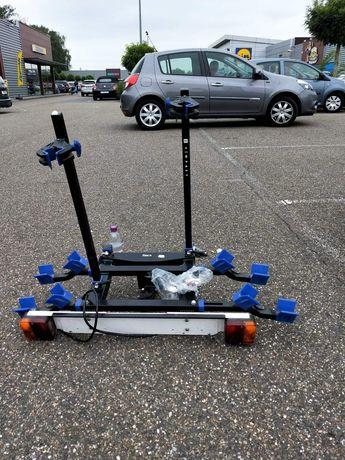 Bagażnik stojak samochodowy na dwa rowery stan bdb
