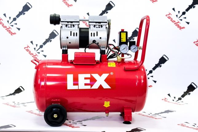 Компрессор Безмасляный LEX LXAC 50-21LO 2.1 кВт 310 л/мин Чехия