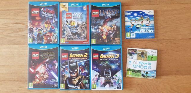 6 Jogos Wii U + 2 Jogos Wii