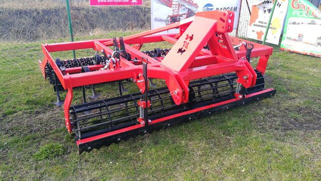Agregat uprawowy ciężki EURO-MASZ 3.0 m kompaktor agromasz