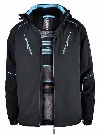 Горнолыжная мужская куртка M-3xl.та БАТАЛ 4XL.5XL.6XL.7XL.8XL 20 000mm