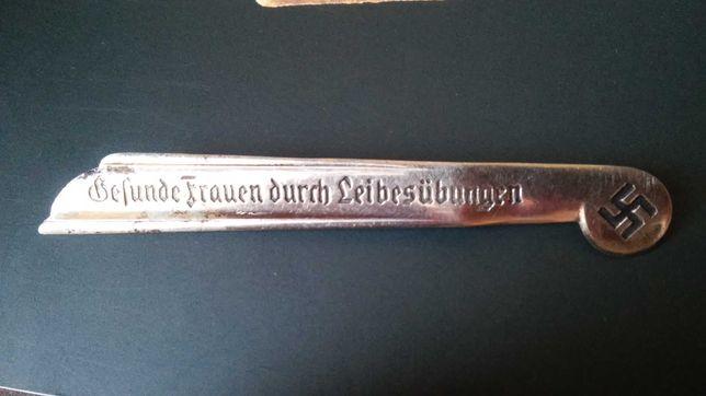 Odznaka dla kobiet III Rzesza oryginał rzadkość! Cena 300zł