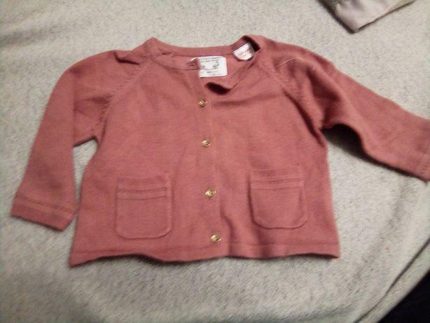 Sweterek ciemno różowy 68 zara