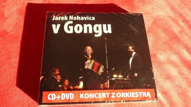 J. Nohavica V Gongu cd+dvd nowa folia