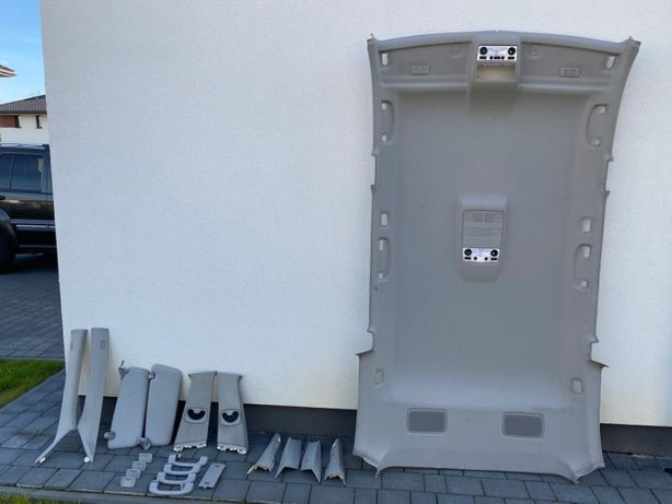 Podsufitka - BMW 5 E61 - wszystkie elementy - Szara