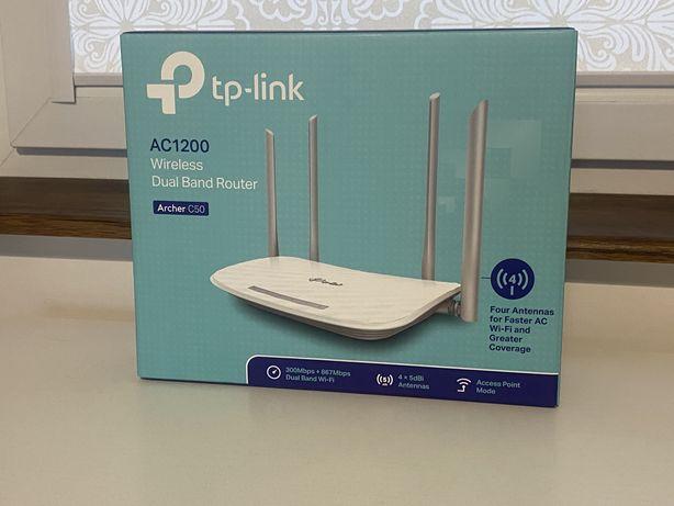 Router TP-LINK Archer C50 - jak nowy!