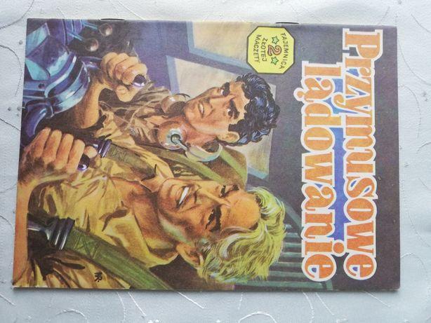 Komiks. Przymusowe lądowanie. Tajemnica 2 złotej maczety. 1985