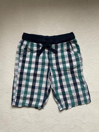 Хлопковые клетчатые шорты глория джинс