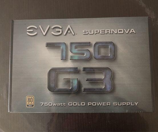 Блок живлення EVGA SuperNOVA 750W G3 (220-G3-0750-X3) Gold+