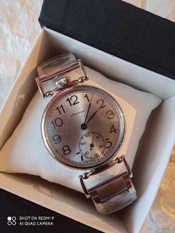 """Наручные часы """"Молния"""" с браслетом. (Марьяж)."""