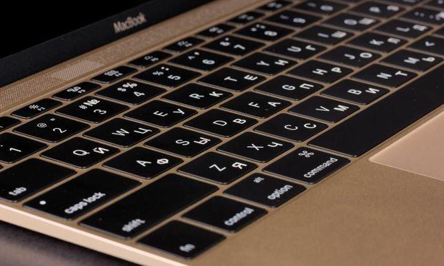 Лазерная гравировка клавиатуры MacBook Ноутбуков Клавиатур