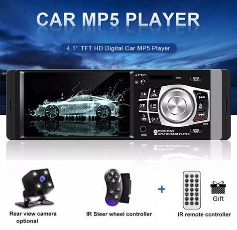 Rádio 1 Din+GPS por mirrorlink+kit mãos livres+bluetooth/câmera