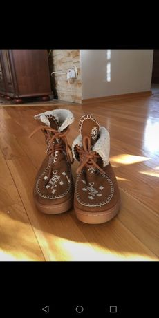 Buty ocieplane z zary