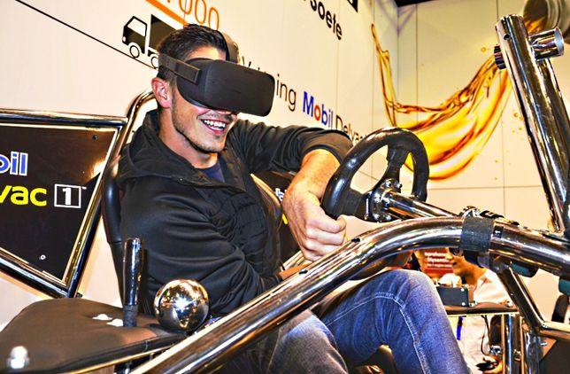 Stanowisko VR, Symulatory jazdy wynajem, symulator f1 i WRC, flippery