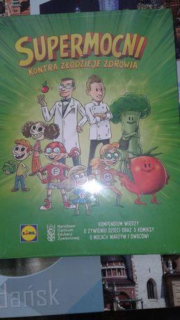 Nowa książka Lidla Supermocni kontra złodzieje zdrowia
