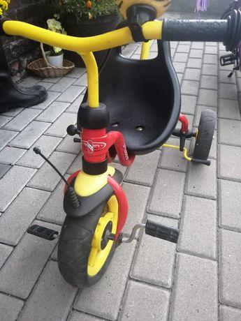 Rower puky trójkołowy