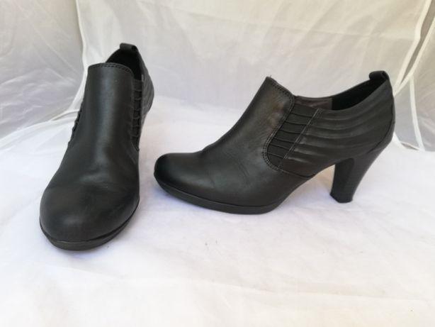 Buty botki skórzane Tamaris r. 39 , wkł 26 cm