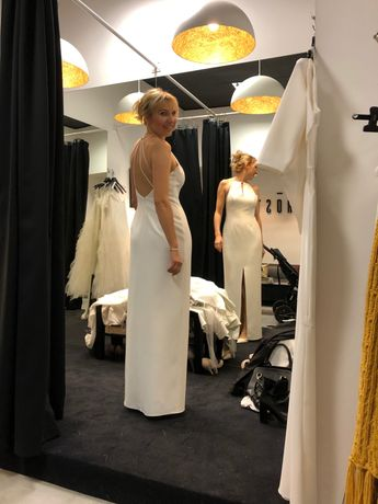 Suknia ślubna model Madryt firmy Po Prostu rozmiar 36/38