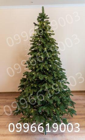 """Литая елка """"Премиум"""" 2.10м. зеленая."""