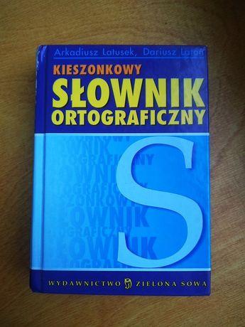 Kieszonkowy słownik ortograficzny Zielona Sowa
