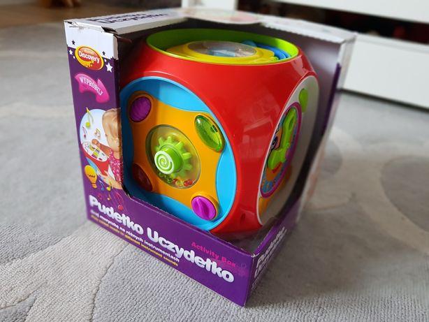 Pudełko uczydelko interaktywna duza kostka 12m+