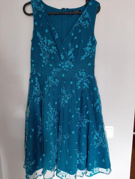 Sukienka koktajlowa, Orsay, turkus rozm. 36