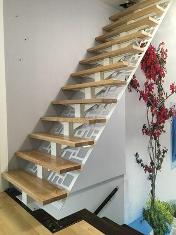 Nowoczesne schody metalowe
