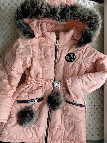 Пальто на  зиму детское