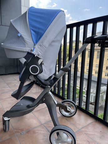 коляска Stokke  Xplory 2в1 люлька & прогулка