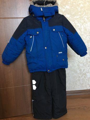 Зимняя куртка и полукомбинезон Lenne на мальчика 98 р