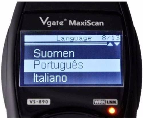 Máquina de Diagnóstico Automóvel Profissional c/Português!!!