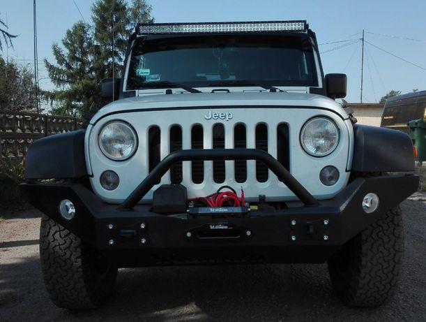 Zderzak stalowy Jeep Rubicon przedni