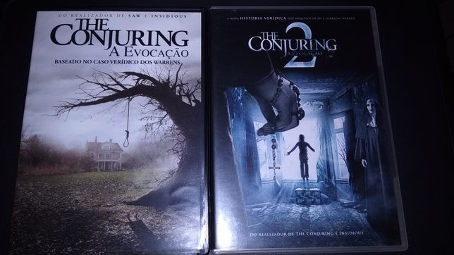 2DVD• THE CONJURING 1+2