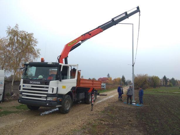 Transport z HDS TruckBer