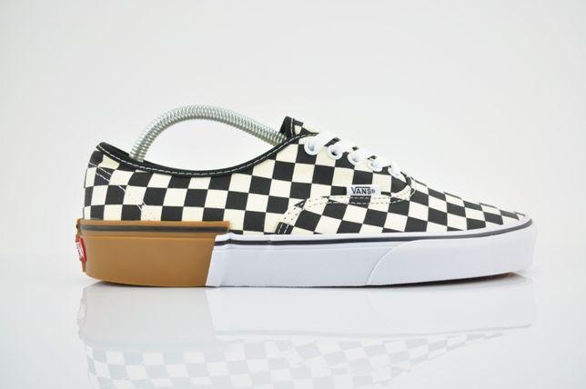 "Vans Authentic Gum Block ""Checkerboard"" 42 42,5 43 old skool PURRFECT"