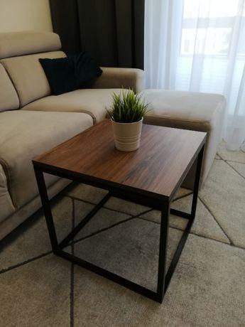 Stolik kawowy Little Lyon, LOFT, industrialny, ława 50 cm