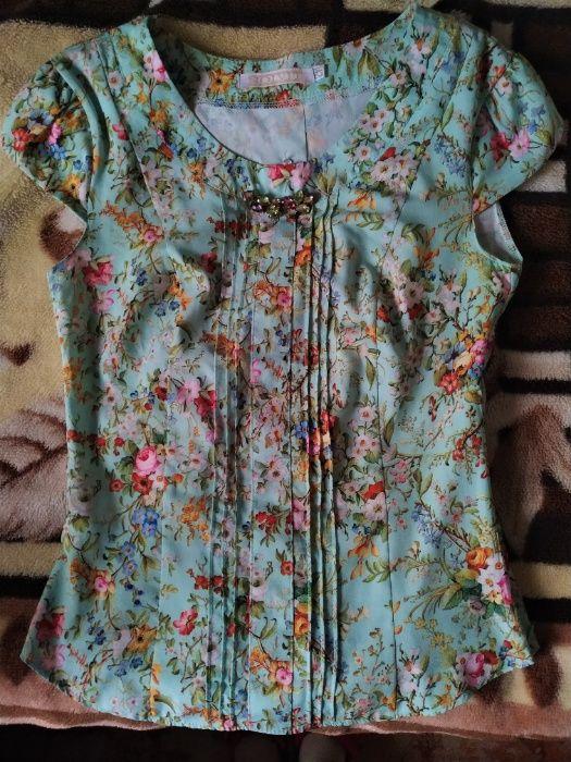 Жіноча літня блузка. Червонозаводское - изображение 1