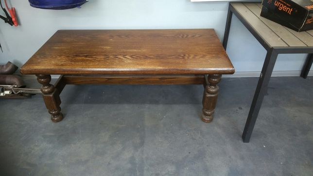 Stół, stolik, ława dębowa 70x140x53