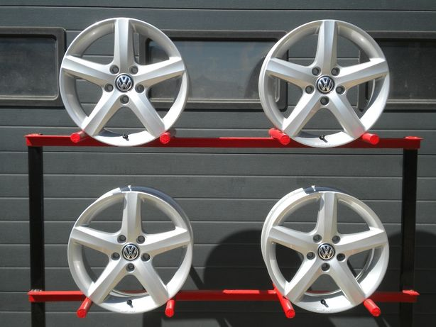Felgi aluminiowe 16 5x112 ORG Vw Golf VII 7 VI V Jetta Touran Jak Nowe