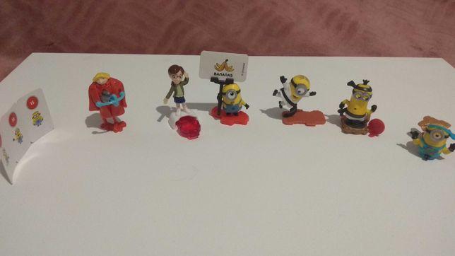 """Игрушки из киндера """"Minios"""""""