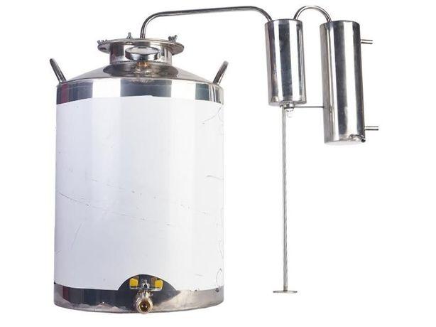 Дистиллятор с сухопарником, 40л пищевая нержавейка AIS 304. дистилятор