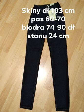 spodnie Skinny roz xs/s