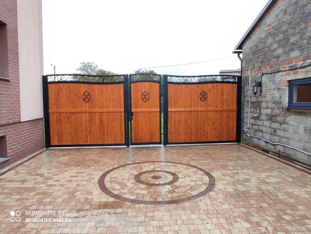 Płoty,bramy , ogrodzenia,montaż płotów.